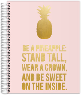 Be A Pineapple Custom Monthly Planner