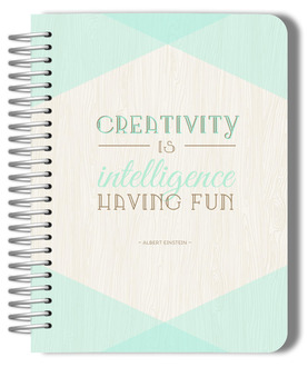 Mint and Rustic Creativity Monthly Planner