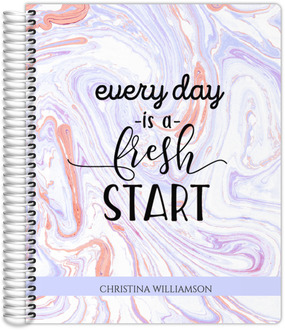 Everyday Fresh Start Monthly Planner