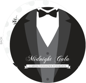 Tuxedo Black Tie Charity Fundraiser Invitation