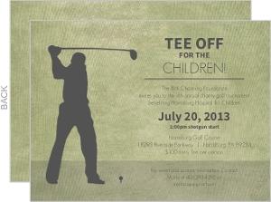 Rustic Green Golf Tournament Charity Fundraiser