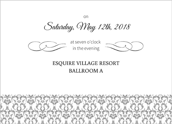 Fairytale Prom Invitation