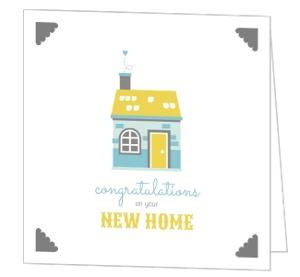 Cute Homestead New Home Congratulations Card