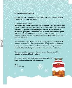 Santa's Chimney Christmas Letter