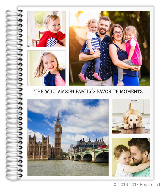 Favorite Moments Photo Collage Weekly Planner