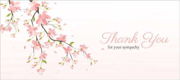 Sympathy Thank You Cards & Thank You for Sympathy Card
