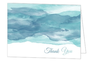 Ocean Business Thank You Card