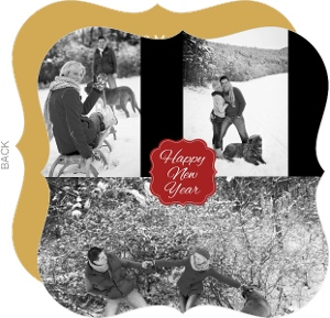 Review Collage Year In Review Holiday Card