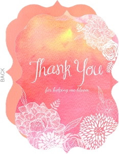 Beautiful Thank You Cards thank you cards for teachers & teacher thank you cards