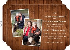 Wooden Picture Perfect Love 35Th Wedding Anniversary