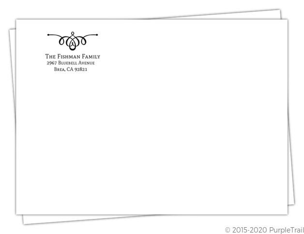 how to add return address envelope com