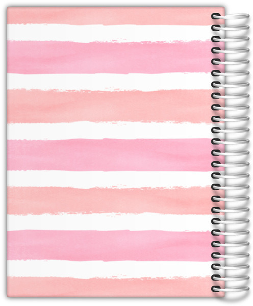 Watercolor Stripes Good Things Daily Planner
