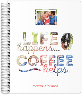 LIfe Happens Coffee Helps Mom Planner