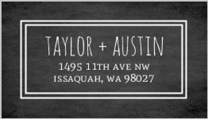 Rustic Barn Address Label