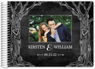 Chalkboard Tree Wedding Guestbook