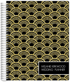 Gold Art Deco Wedding Planner