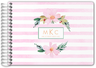 Floral Watercolor Wedding Guest Book
