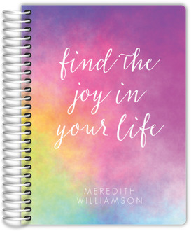 Colorful Joy Travel Journal