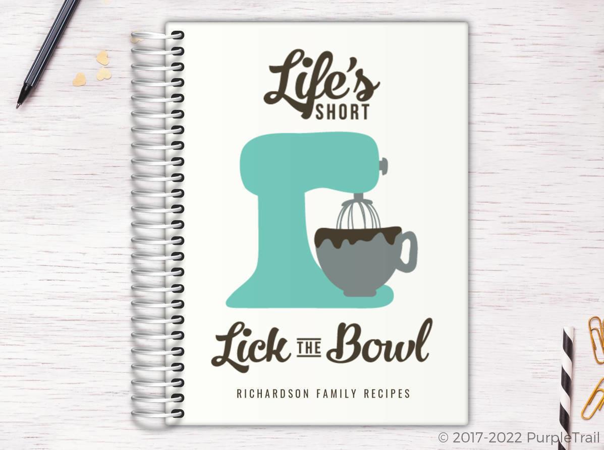 Funny Baker Recipe Journal