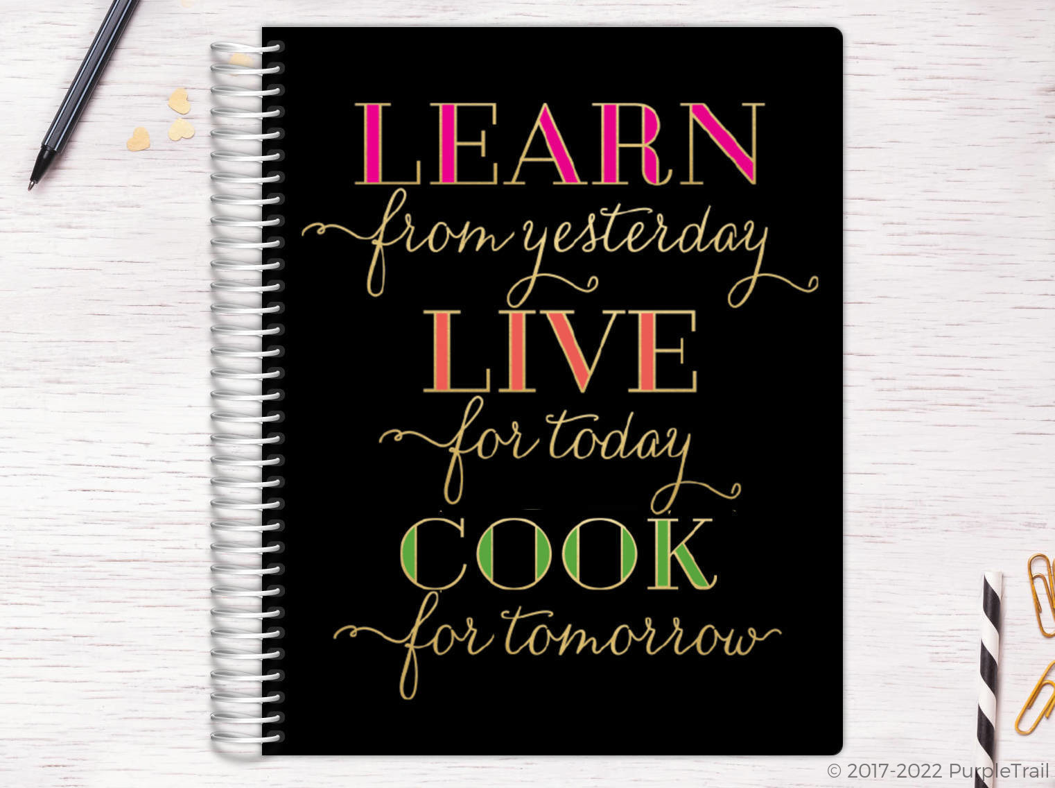 Learn Live Cook Recipe Journal