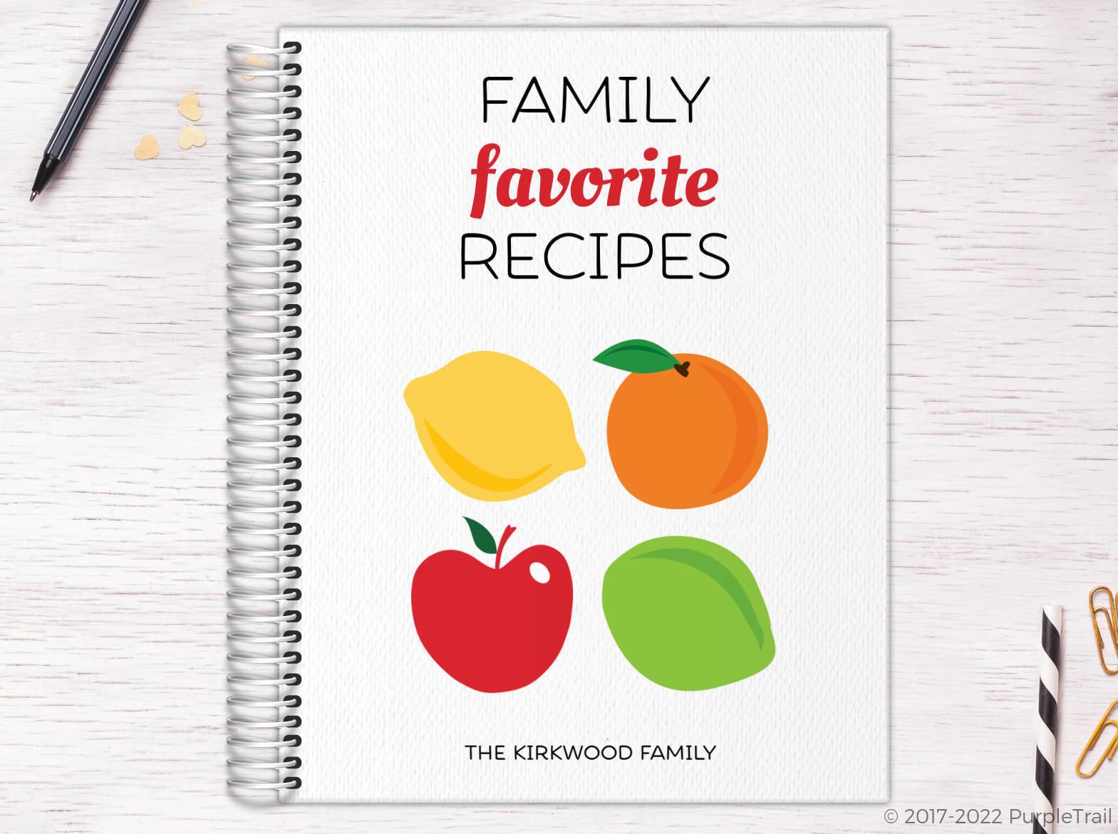 Family Favorite Recipe Journal