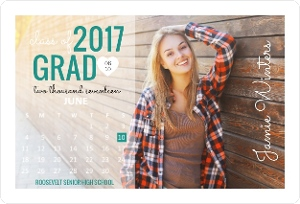 Photo Calendar Graduation Custom Magnet