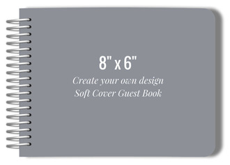 Create Your Own 8x6 Soft Cover Guest Book