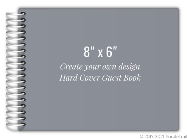 Book Cover Design Your Own : Create your own hard cover guest book