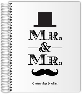Top Hat and Mustache Wedding Planner