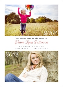 Favorite Moments Photo Grad Announcement