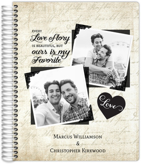 Vintage Love Story Gay Wedding Planner