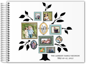 Family Tree Reunion Guest Book