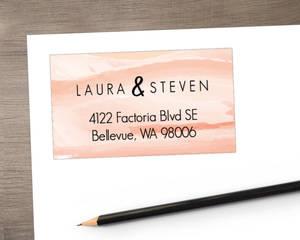 Desert Sunset Address Label