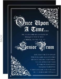Fairy Tale Prom Invitation