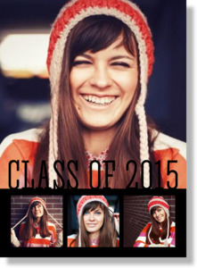 Class Of Multi Photo Metal Print 5x7