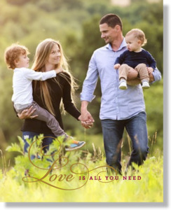 Love Is All You Need Poster Print