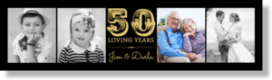 Classic Memories Wedding Anniversary Banner