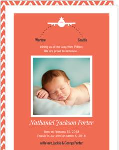 Orange Long Flight Adoption Announcement
