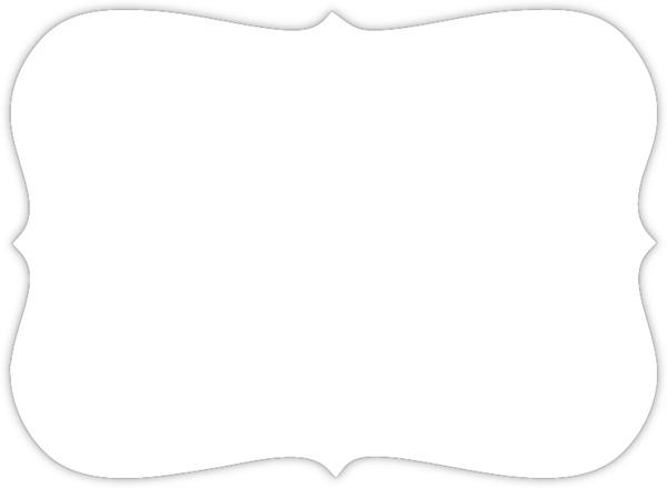 Silver Foil Confetti Frame Prom Invitation | Prom Invitations