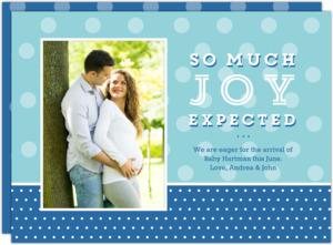 Expectant Joy Pregnancy Announcement