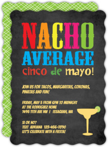 Margarita glass cinco de mayo invitation 4347 0 big wavy