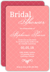 Flourish Bridal Shower Invite