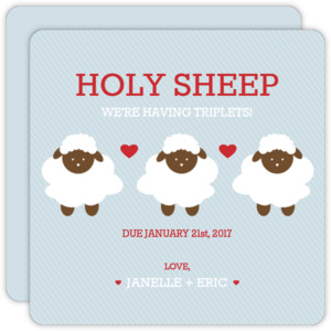 Holy Sheep Triplets Announcement