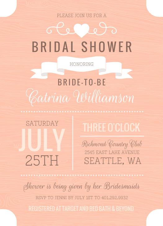 Invitations Bridal Shower was perfect invitation design