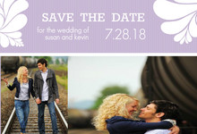 Big and Bold Love Save the Date