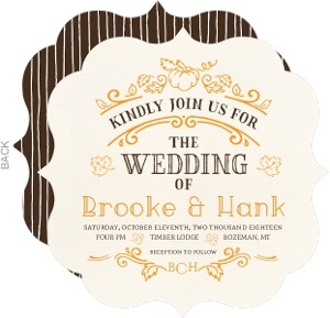 Hand crafted autumn leaves wedding invitation 23100 58112 0 big antique