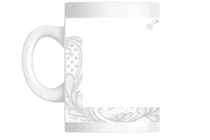 Beautiful Lace Custom Photo Mug