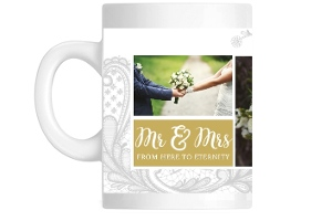 Beautiful Lace Custom Photo Mug
