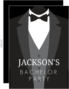 Bachelor Party Invitations & Bachelor Party Invites