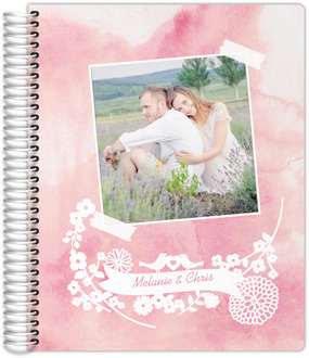 Watercolor Photograph Wedding Planner